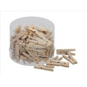 CLIPS MADERA natural 3cm (72u.)