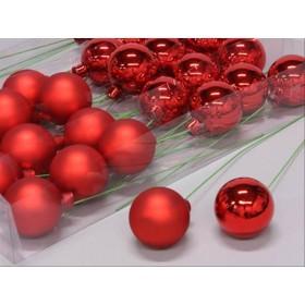 BOLA ALAMBRADA 50mm Rojo mix 30u