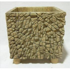 BASE CERAMICA MOSAICO FEET 14x14 H15,5cm